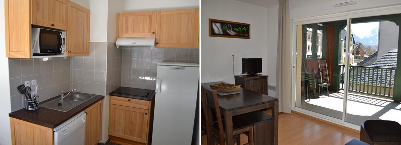 Les Jardins de Balnéa - Loudenvielle - Vacancéole - Appartement 3 pièces 8 personnes