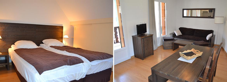 Les Jardins de Balnéa - Loudenvielle - Vacancéole - Appartement 2 pièces 6 personnes